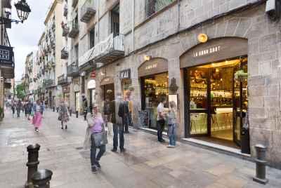 Просторная светлая квартира в самом центре Барселоны